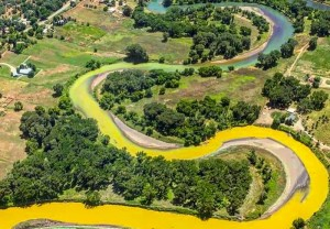 Animas River mine spill-2015